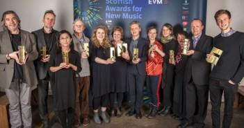 Scottish Awards for New Music winners © Iain Smart