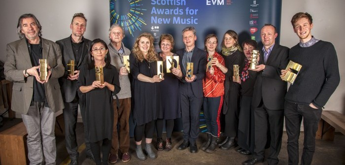 Scottish Awards for New Music winners © Iain Smart