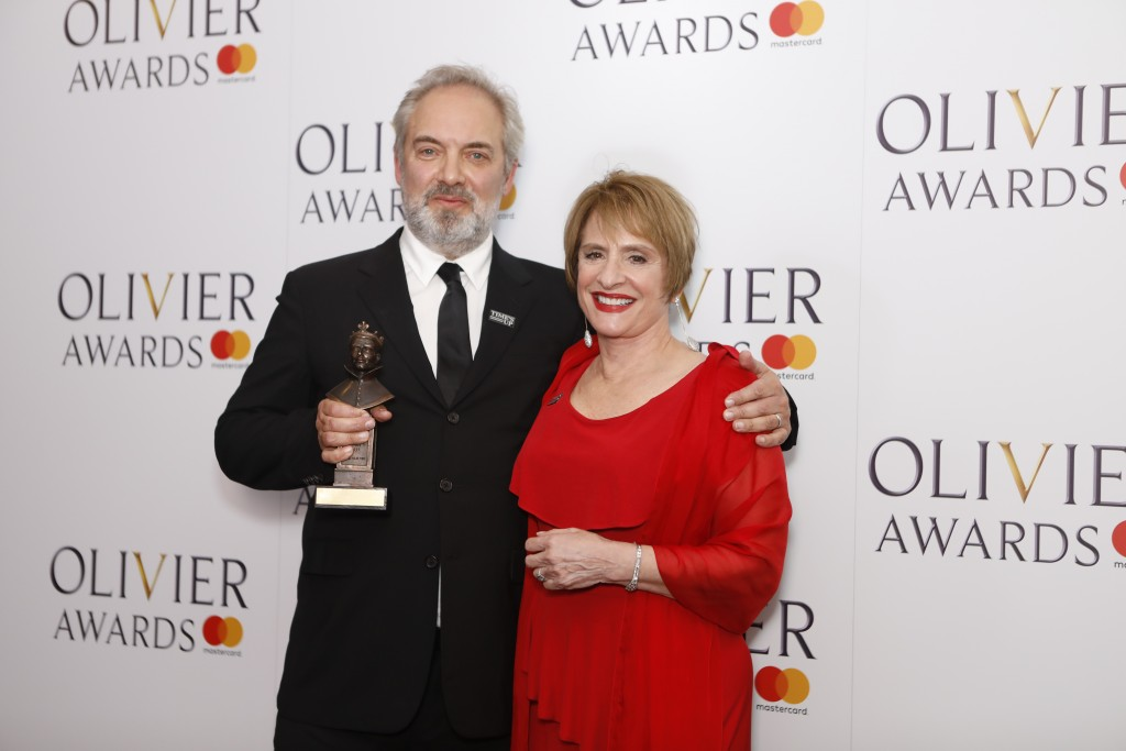 Sam Mendes and Patti LuPone © Pamela Raith
