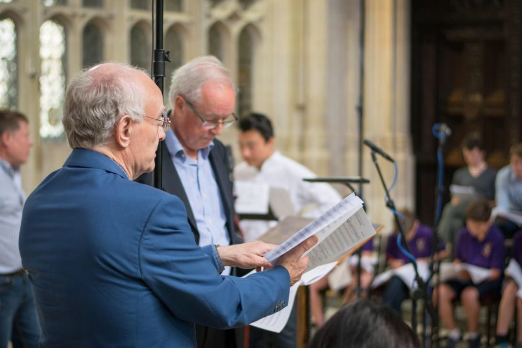 John Rutter and Stephen Cleobury © KCC