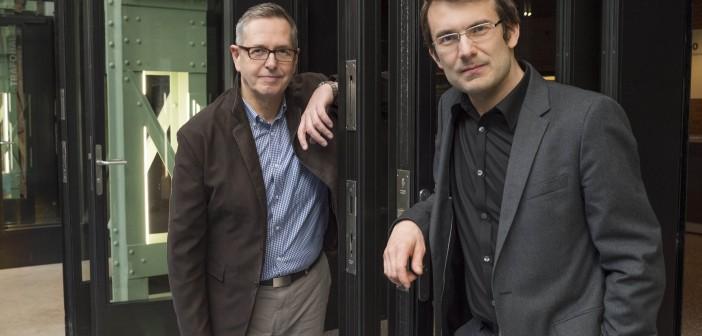 Douglas Bostock and Christian Weidmann © Priska Ketterer