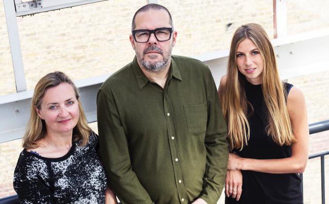 Catherine McDade, Bob McDade and Harriet Moss © Ana Lemos