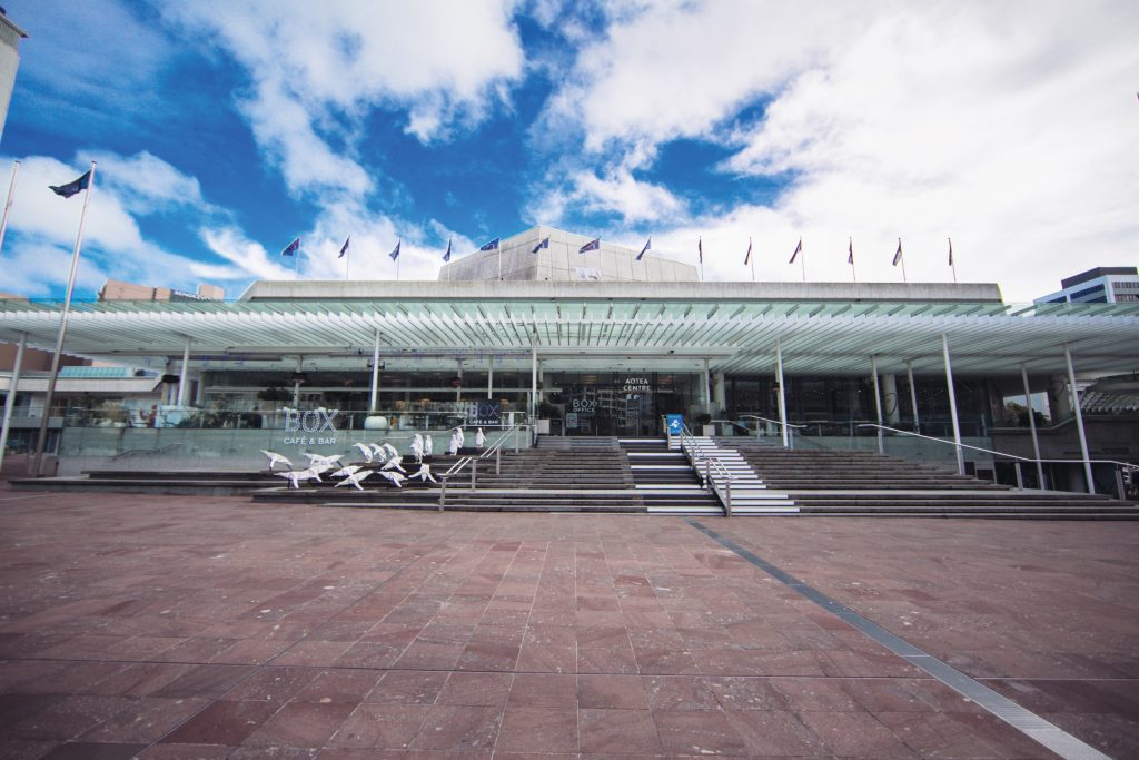 Aotea Centre, home of the AAPPAC 2018 conference © Auckland Live