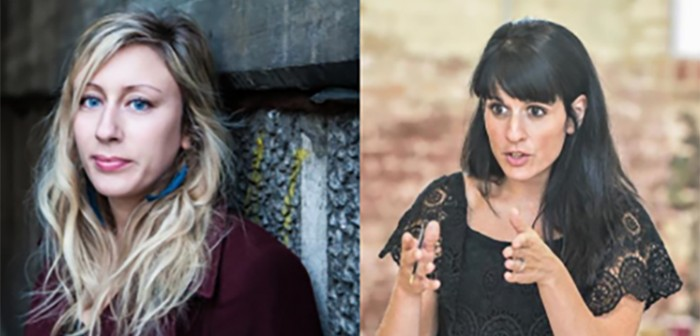 Charlotte Bennett and Katie Posner_