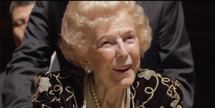 Violinist and philanthropist Alice Schoenfeld dies aged 98