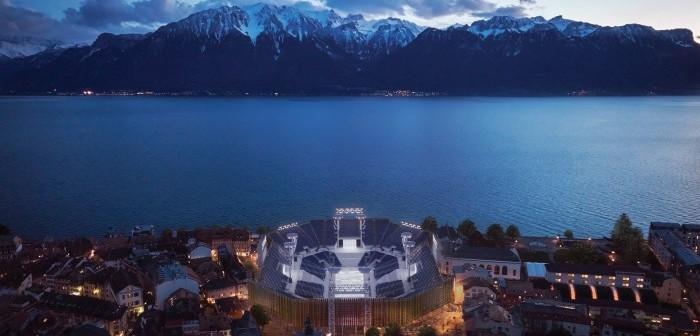 The Fête des Vignerons arena on Lake Geneva © Matteo Verlicchi