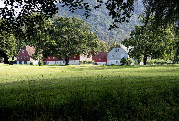 Rosendal concert hall i a barn on the manor house's farming estate © Liv Øvland