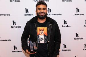 Under 30s winner Hussain Manawer © Hayley Farr