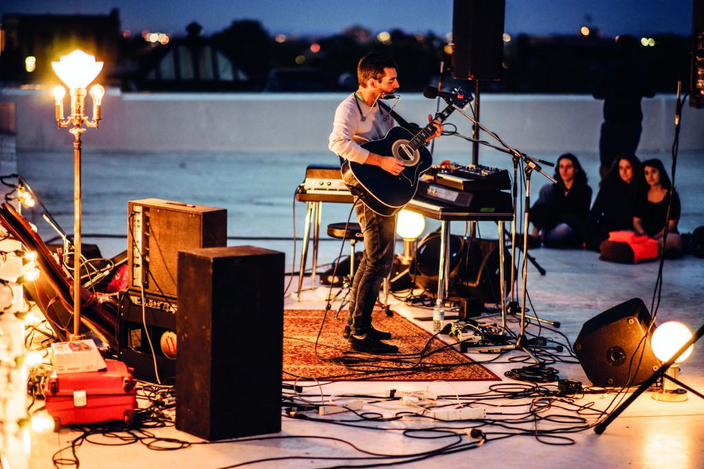 Leif Vollebekk performs at POP Montreal © Jean Philippe Sansfaçon
