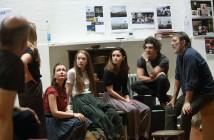 Amy Molloy, Liadán Dunlea, Judith Roddy, Fra Free and Ciarán Hinds © Catherine Ashmore