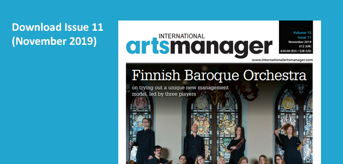Protected: International Arts Manager Vol 15 Issue 11