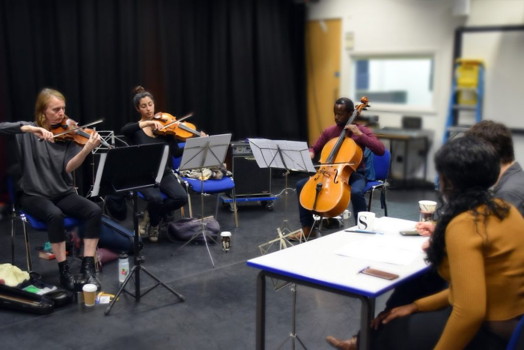Clod Ensemble's work in the classroom