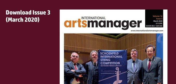 Protected: International Arts Manager Vol 16 Issue 3