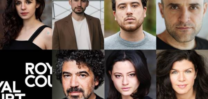 The cast for Two Palestinians Go Dogging