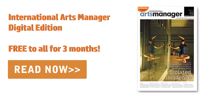 International Arts Manager Vol 16 Issue 4