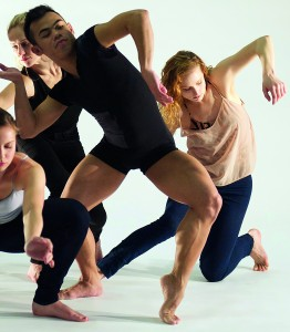 Company E   dancers Kathryn Sydell Pilkington, Alicia Canterna, Jason Garcia Ignacio and Delphina Parenti