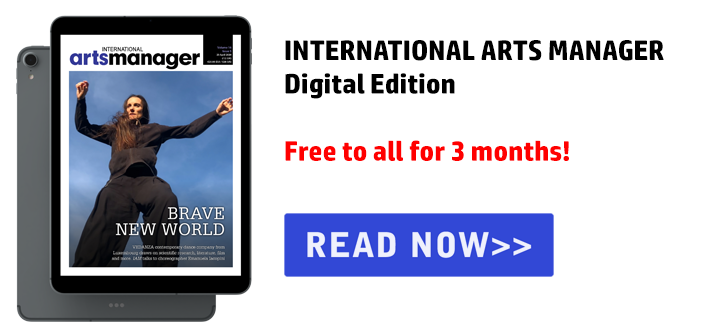 International Arts Manager Vol 16 Issue 5