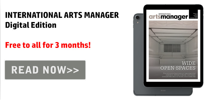 International Arts Manager Vol 16 Issue 6