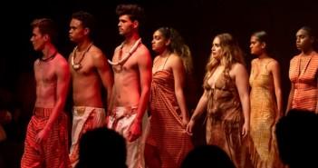 Performers at Cairns Indigenous Art Fair
