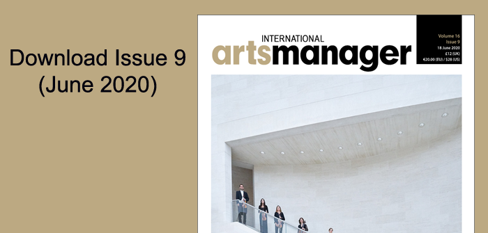 International Arts Manager Issue 9 Digital Edition