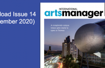 International Arts manager Vol 16 issue 14 Sept 20 digital edition