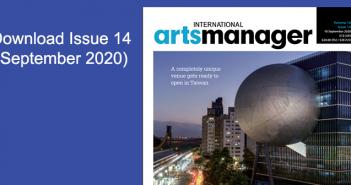 International Arts manager Vol 16 issue 14 Sept 20 digital edition