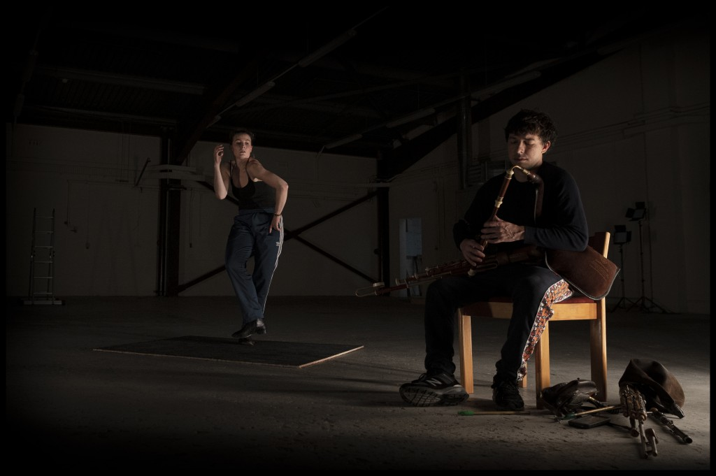 Rehearsals for theatre piece Óró © Martin Maguire