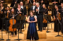 2018 AMP laureate Kelly-Marie Murphy with the Orchestre classique de Montréal at the 2018 AMP Gala Concert © Danylo Bobyk