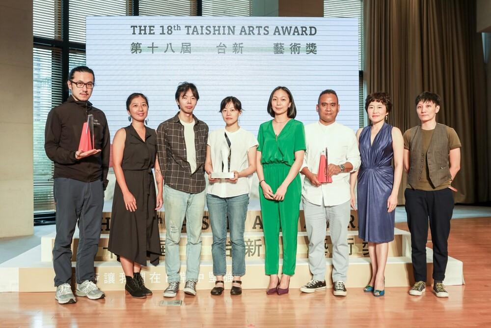 Winners of the 18th Taishin Arts Award: Performing Arts Award, Visual Arts Award, and Annual Grand Prize