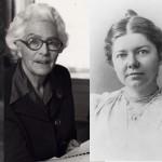 Composers Grażyna Bacewicz, Elizabeth Maconchy, Amy Beach and Anna Amalia von Sachsen-Weimar-Eisenach