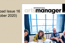 International Arts Manager Volume 16, Issue 16 2020