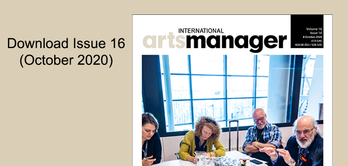 International Arts Manager Volume 16, Issue 16 2020