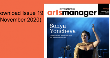 International Arts Manager download issue 19 2020