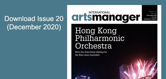 International Arts Manager download Issue 20 2020