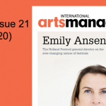 International Arts Manager Issue 21 digital Edition