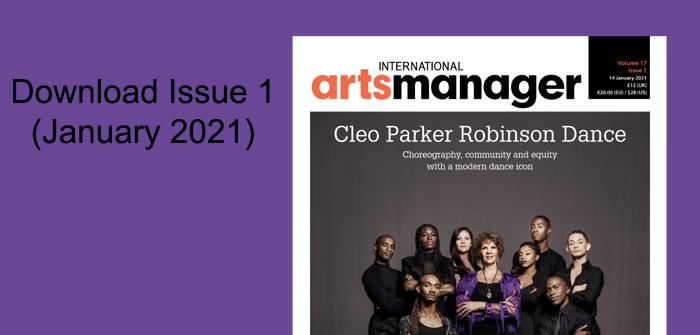 International Arts Manager Vol 17 issue 1 digital edition
