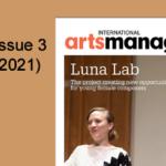 International Arts Manager Volume 17, Issue 3 Digital Edition
