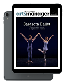 International Arts Manager Vol 17 issue 3 February 21