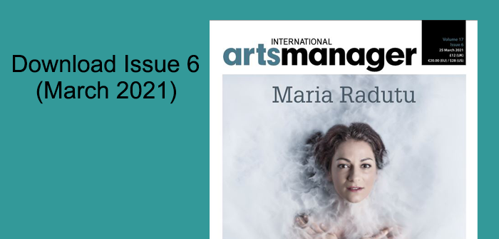 International Arts Manager Volume 17, Issue 6 digital edition