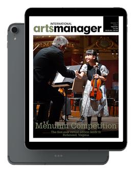 International Arts Manager Vol 17 issue 7 April 2021