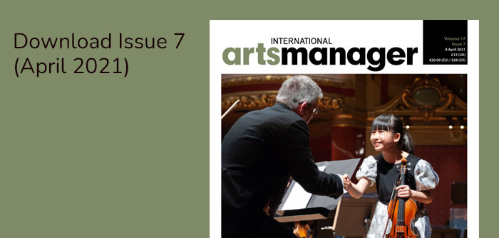 Protected: International Arts Manager Vol 17 Issue 7