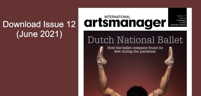 International Arts Manager digital edition download vol 17 issue 12