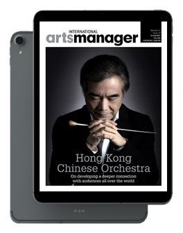 International Arts Manager Vol 17 issue 14 July 2021