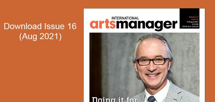 International Arts Manager Volume 17, Issue 16