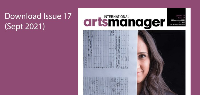 Protected: International Arts Manager Vol 17 Issue 17