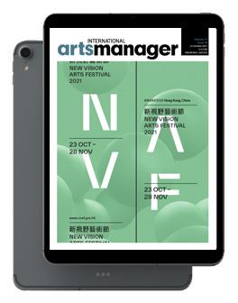International Arts Manager Vol 17 issue 20 October 2021